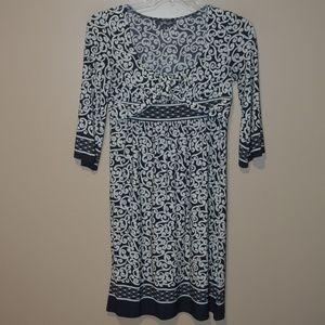 CITY TRIANGLE Women's Sz M Patterned  DRESS